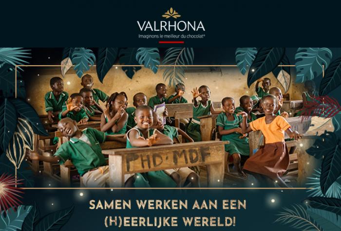 Valrhona werkt samen voor een eerlijke wereld