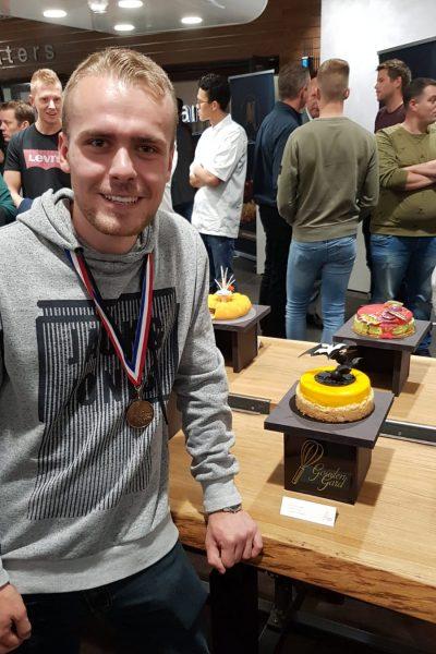 Mathijs na winnen talentenprijs