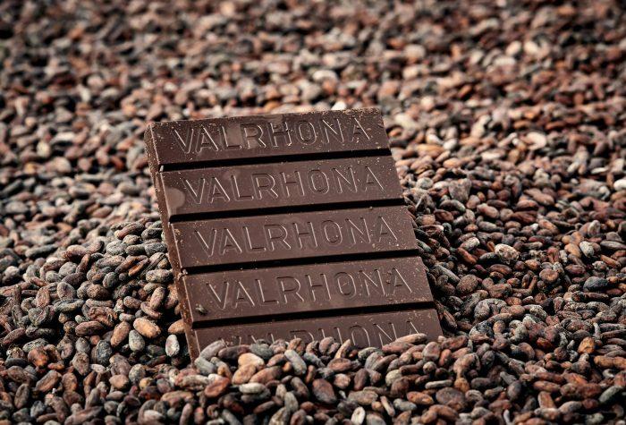 Valrhona chocolade in bonen